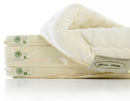 MATELAS EN LATEX NATUREL GREEN SLEEP
